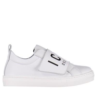 Afbeelding van Dsquared2 57112 kindersneakers wit