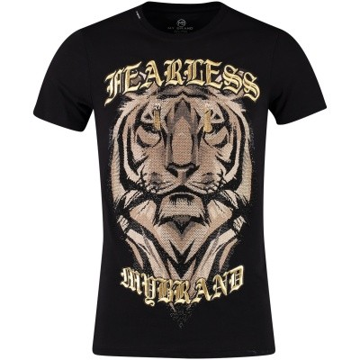 Afbeelding van My Brand MMBTS012GM045 heren t-shirt zwart