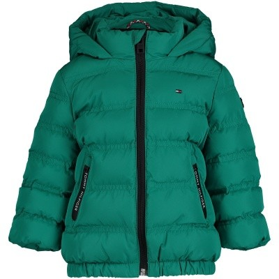 Picture of Tommy Hilfiger KB0KB04384B baby coat green