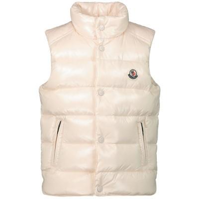 Afbeelding van Moncler 4332905 baby bodywarmer licht roze