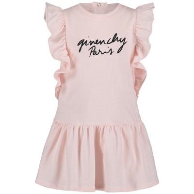 Afbeelding van Givenchy H02039 babyjurkje licht roze