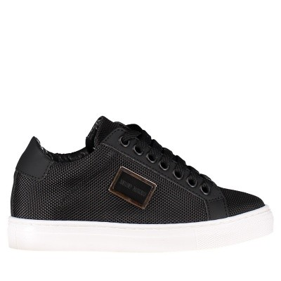 Picture of Antony Morato MKFW00116 kids sneakers black
