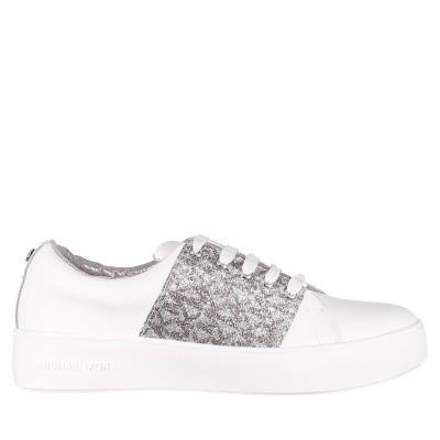 Afbeelding van Michael Kors MAVENMIKAB kindersneakers wit