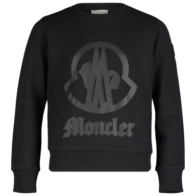 Picture of Moncler 8025250 kids sweater black