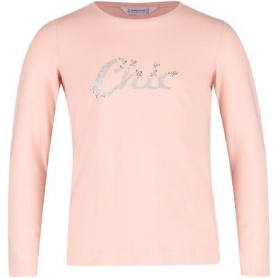 Afbeelding van Mayoral 178 kinder t-shirt licht roze