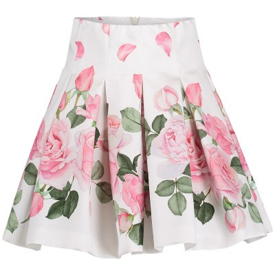 Picture of MonnaLisa 713703 kids skirt off white