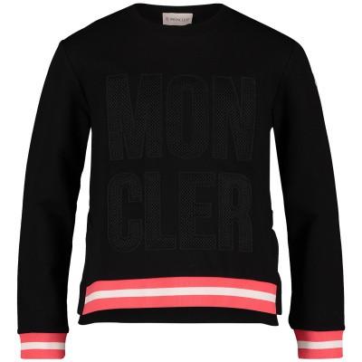 Afbeelding van Moncler 8070650 kindertrui zwart