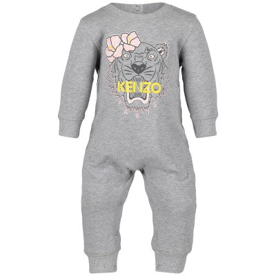 Picture of Kenzo KN32003 baby playsuit light gray