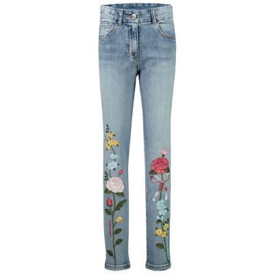 Afbeelding van MonnaLisa 194400R6 kinderbroek jeans