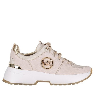 Picture of Michael Kors 43R9CSFS1S womens sneakers light beige