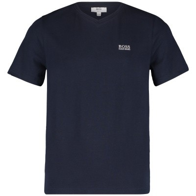Picture of Boss J25Z04 kids t-shirt navy