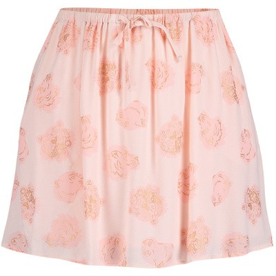 Picture of Kenzo KN27108 kids skirt light pink