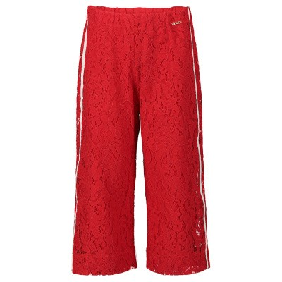 Picture of Liu Jo K19062 kids jeans red
