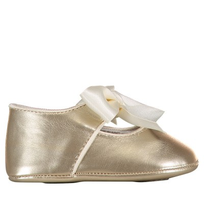 Picture of Mayoral 9091 baby shoes gold