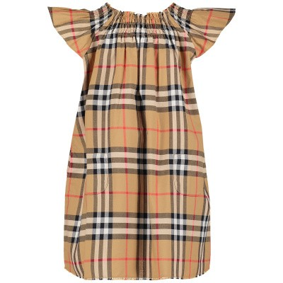 Picture of Burberry 8010657 baby dress beige