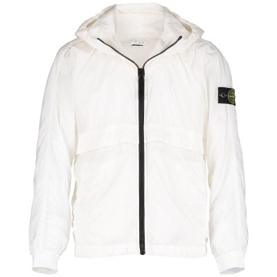 Picture of Stone Island 701640632 kids jacket white