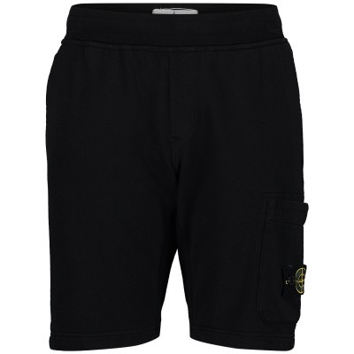 Picture of Stone Island 701660740 kids shorts black