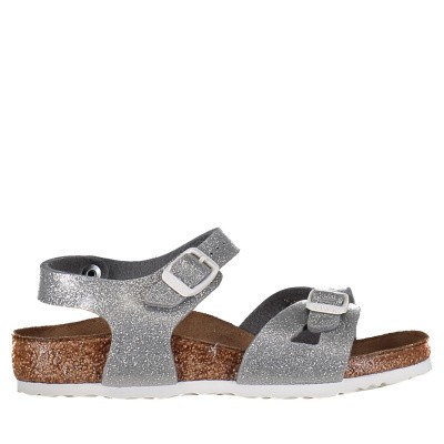 Picture of Birkenstock 831783 kids sandals silver