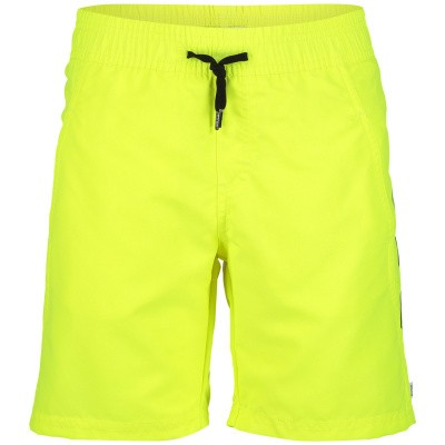 Picture of Boss J24561 kids swimwear fluoro yellow