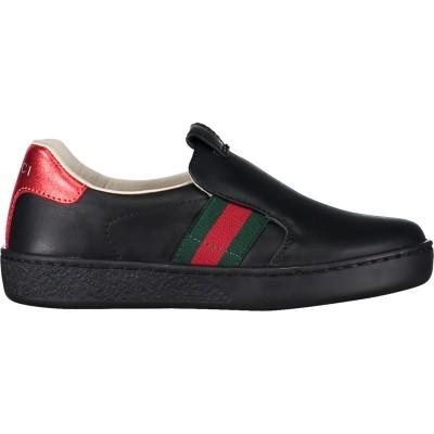 Picture of Gucci 477539 kinderschoen zwart