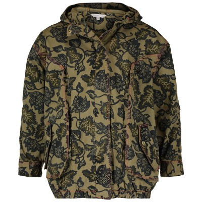 Picture of Marc Jacobs W16100 kids jacket army