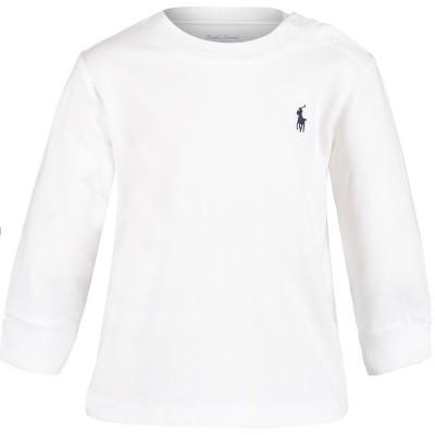 Afbeelding van Ralph Lauren 320703642 baby t-shirt wit