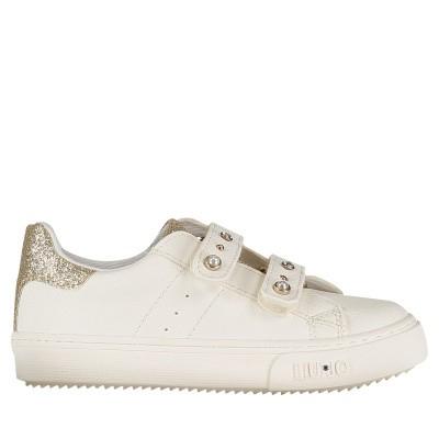 Picture of Liu Jo L1A4 20224 kids sneakers white