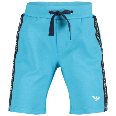 Picture of Armani 3GHS06 baby shorts turquoise