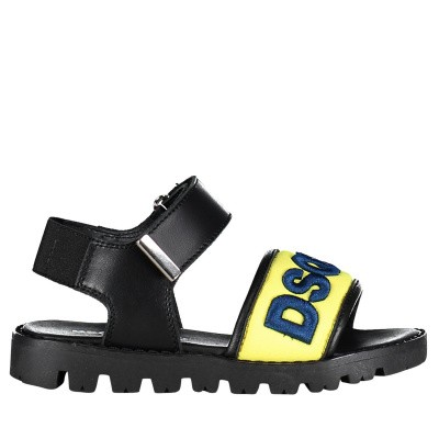 Picture of Dsquared2 59800 kids sandals yellow