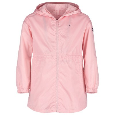 Picture of Tommy Hilfiger KG0KG04363 kids jacket light pink