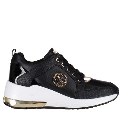 Picture of Guess FL5JA2LEA12 womens sneakers black
