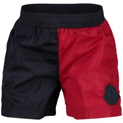 Afbeelding van Moncler 0073905 baby badkleding navy