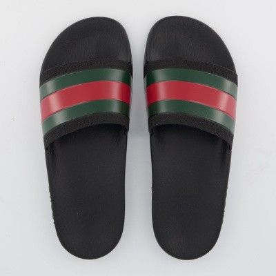 Picture of Gucci 503220 kids flipflops black