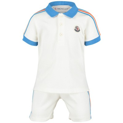 Picture of Moncler 8812805 baby set off white