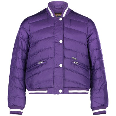 Picture of Woolrich WKSPS2089 kids jacket purple
