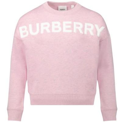 Afbeelding van Burberry 8011811 kindertrui licht roze