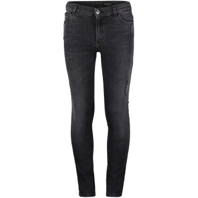 Picture of Dolce & Gabbana L41F99LD749 kids jeans dark gray