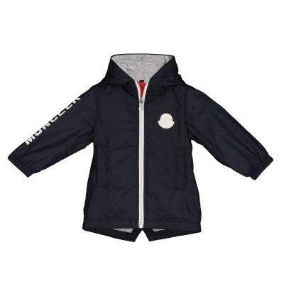 Picture of Moncler 42104 baby coat navy