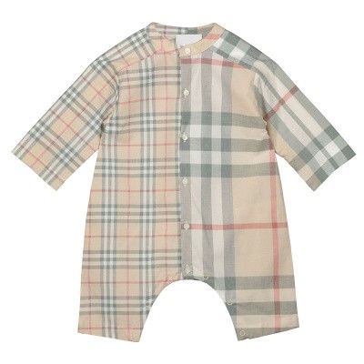 Picture of Burberry 8013783 baby playsuit light beige