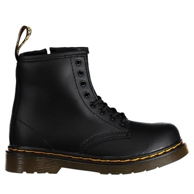 Picture of Dr. Martens 15373001 kids boots black