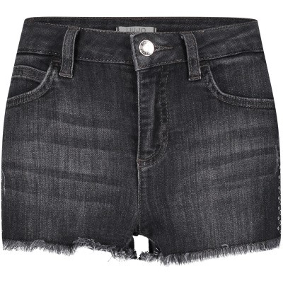 Picture of Liu Jo G19090 kids shorts black