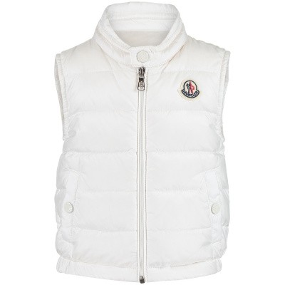 Picture of Moncler 4334199 baby bodywarmer off white