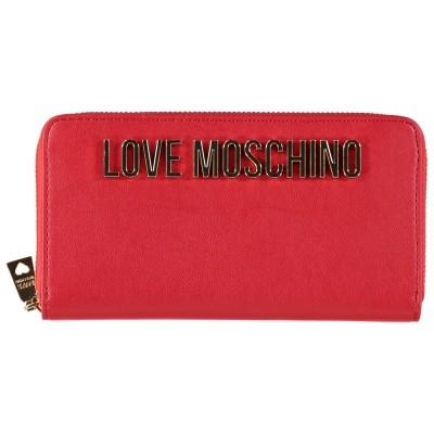 Afbeelding van Moschino JC5593 dames portemonnee rood