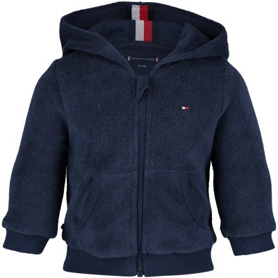 Picture of Tommy Hilfiger KN0KN00974B baby vest navy
