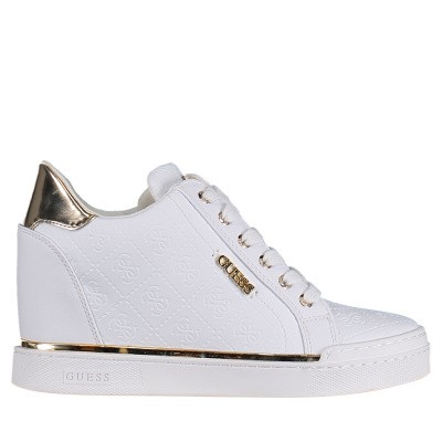 Picture of Guess FL5FWUFAL12 womens sneakers white