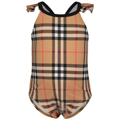 Picture of Burberry 8008783 baby swimwear beige