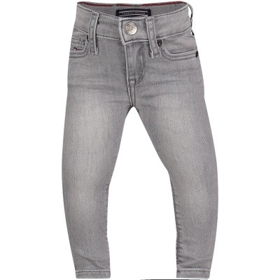 Afbeelding van Tommy Hilfiger KG0KG03611 B baby jeans grijs