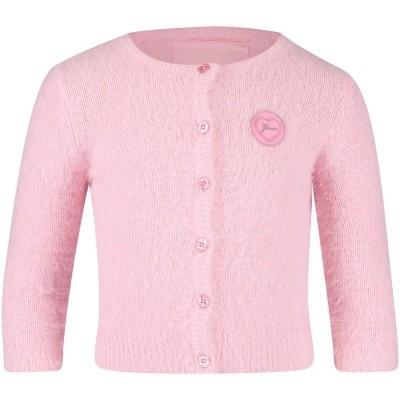 Afbeelding van Guess A84R04 baby vest licht roze
