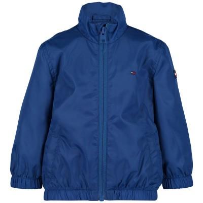 Picture of Tommy Hilfiger KB0KB04719 B baby coat cobalt blue