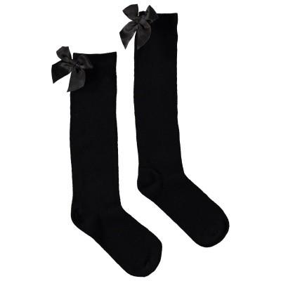 Picture of Bonnie Doon BN853507 kids socks black